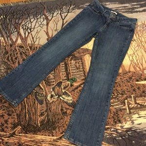 Women's Riders by Lee, Mid Rise Boot Cut, size 10.